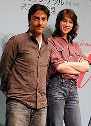 イバン・アタルとシャルロット・ゲンズブール「ぼくの妻はシャルロット・ゲンズブール」