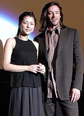 吉岡美穂とヒュー・ジャックマン「X-MEN2」