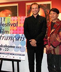 ヴァンサン・ペレーズ(左)とおすぎ「まぼろし」
