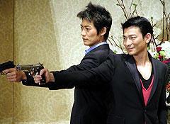この2人になら撃たれてもいい? 反町隆史(左)とアンディ・ラウ「フルタイム・キラー」