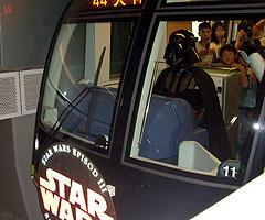 フォースの暗黒面は電車の運転をも可能にするのだ「スター・ウォーズ」