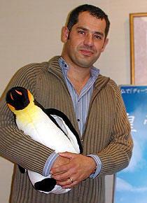 動物行動学の研究者でもある リュック・ジャケ監督「皇帝ペンギン」