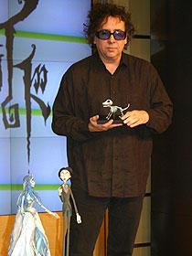 撮影で使われた人形たちと「ティム・バートンのコープスブライド」