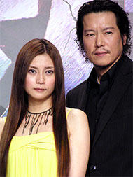 ヒロインを演じる柴咲コウと 共演の豊川悦司「日本沈没」