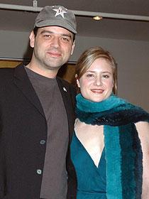 マルク・ローテムント監督(左)とユリア・イェンチ「白バラの祈り ゾフィー・ショル、最期の日々」