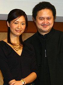 シュー・ジンレイとチャン・ユアン監督「SAYURI」