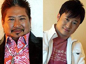 サモ・ハン(左)とウー・ジン「SPL/狼よ静かに死ね」
