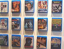 展示されたブルーレイディスク発売タイトル「パイレーツ・オブ・カリビアン 呪われた海賊たち」