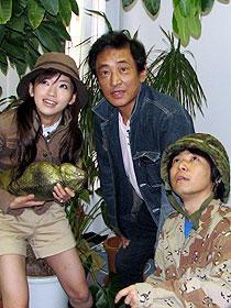 超常現象の謎に迫る! (左から)松嶋初音、宮内洋、荒木憲司監督「スーパーマン リターンズ」