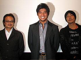 原作者・伊坂幸太郎を魅了した「CHiLDREN/チルドレン」 (左から)源孝志監督、坂口憲二、大森南朋「CHiLDREN チルドレン」