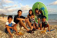 亡くなった飯島夏樹とその家族