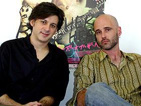 (左から)ルイス・ぺぺ、キース・フルトン「ブラザーズ・オブ・ザ・ヘッド」