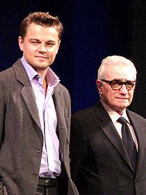 爆弾発言も飛び出した「ディパーテッド」来日会見 (左から)レオナルド・ディカプリオ、 マーティン・スコセッシ監督「ディパーテッド」