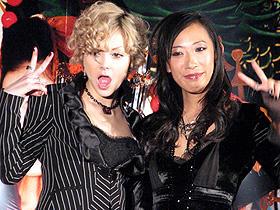 「さくらん」(左から)土屋アンナ、蜷川実花監督「さくらん」