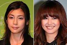 ともに注目の女優 竹内結子(左)と沢尻エリカが初共演「クローズド・ノート」