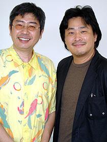 「ぼのぼの」がつなぐ日韓の絆 (左から)いがらしみきお、パク・チャヌク監督「ぼのぼの」