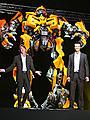 東京ビッグサイトに巨大ロボット出現!「トランスフォーマー」プレミア