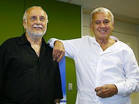 """""""ボサノバの神様"""" (左から)ホベルト・メネスカル、カルロス・リラ「ディス・イズ・ボサノヴァ」"""