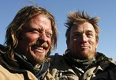 ゲバラみたいな大偉業 チャーリー・ブアマン(左)とユアン・マクレガー「モーターサイクル・ダイアリーズ」