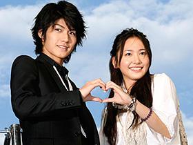 切ないカップル(左から)三浦春馬、新垣結衣「恋空」