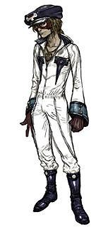 櫻井が演じる映画版 ヤッターマン1号の設定画「ヤッターマン」