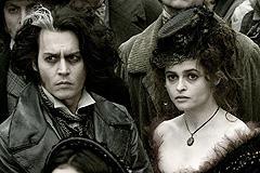 オープニングにデップは登場しませんが「スウィーニー・トッド フリート街の悪魔の理髪師」