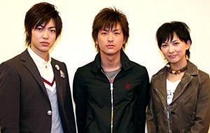 (左から)大東俊介、石田卓也、谷村美月「リアル鬼ごっこ」