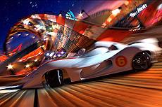 極色彩の色調と豪速スピードが斬新「スピード・レーサー」