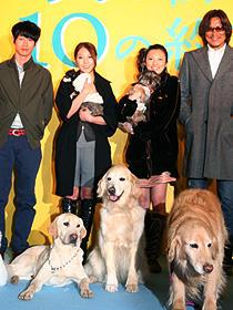 犬好きにはたまらない試写会に「犬と私の10の約束」
