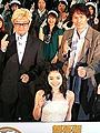 堂本光一が観客の熱い声援にニコニコ。「スシ王子!」映画版初日