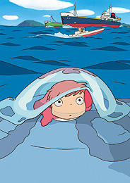 海の世界を舞台に 賑やかな作品になりそう「崖の上のポニョ」