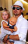 ブラッド・ピットがハリウッドの「良い父親」第1位に!