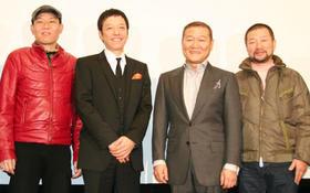 渋谷の劇場では立ち見を出る盛況ぶり「板尾創路の脱獄王」