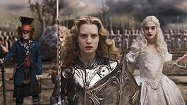 地下世界の平和を取り戻すため戦うアリス「アリス・イン・ワンダーランド」
