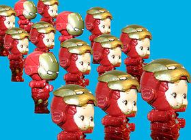 たらこ~、たらこ~♪…ではありませんが人気です「アイアンマン」