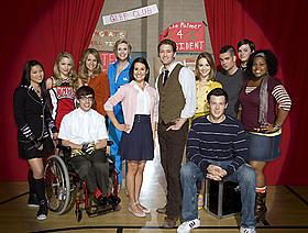 すでに数多くの賞に輝いている「Glee」