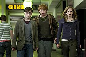 ハリー、ロン、ハーマイオニーが3Dに!「ハリー・ポッターと死の秘宝 PART1」