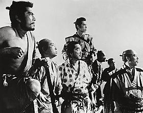 映画のワールドカップでは日本優勝「七人の侍」