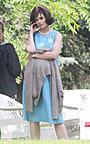 ケイティ・ホームズがジャクリーン・ケネディに扮した写真公開