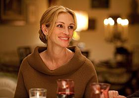 ついに初来日が実現するジュリア・ロバーツ「食べて、祈って、恋をして」