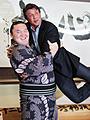 シルベスター・スタローン、22年ぶりに九重親方と再会