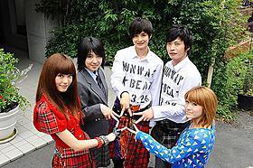 フレッシュな若手俳優で人気ケータイ小説映画化「ランウェイ☆ビート」