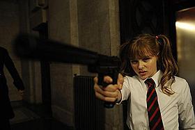 活躍が期待される要注目の若手女優「キック・アス」