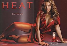 刺激的すぎた?香水「ヒート」広告写真「ヒート」