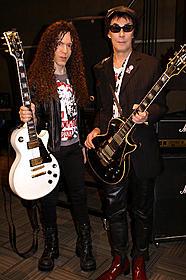 ギタリストの2人が音楽談義