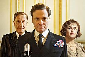 コリン・ファース主演「英国王のスピーチ」「ザ・ファイター」