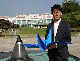 全国8カ所でキャンペーンを行う竹野内豊「太平洋の奇跡 フォックスと呼ばれた男」