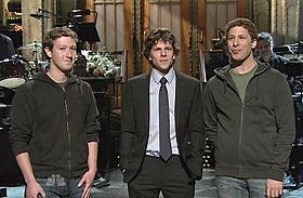 本物のザッカーバーグが登場「ソーシャル・ネットワーク」