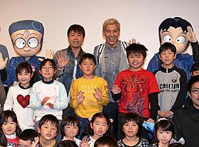 パパ芸人は子どもからも大人気「劇場版アニメ 忍たま乱太郎 忍術学園 全員出動!の段」