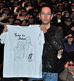 震災支援Tシャツを映画公式サイトなどで販売「攻殻機動隊 S.A.C. SOLID STATE SOCIETY 3D」